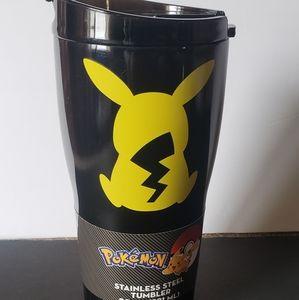 Pokemon stainless steel tumbler new